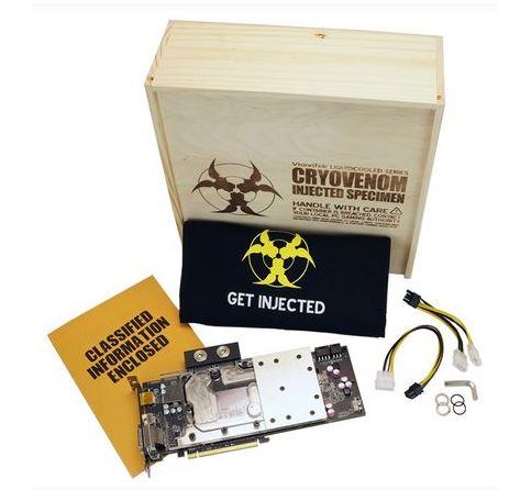 VisionTek представили VisionTek CryoVenom R9 290LE