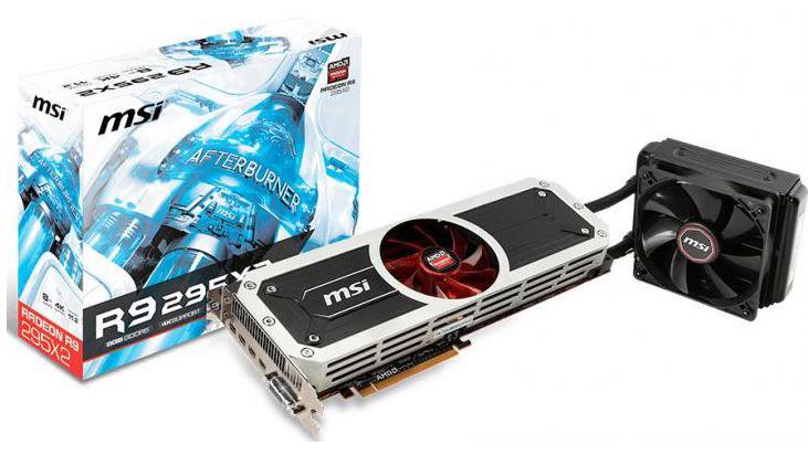 MSI представили видеокарту Radeon R9 295X2