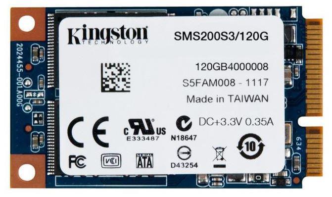 Kingston расширили предложение твердотельных дисков SSDNow mS200