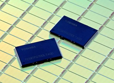 Toshiba запустили производство 15 нм микросхем флэш памяти NAND