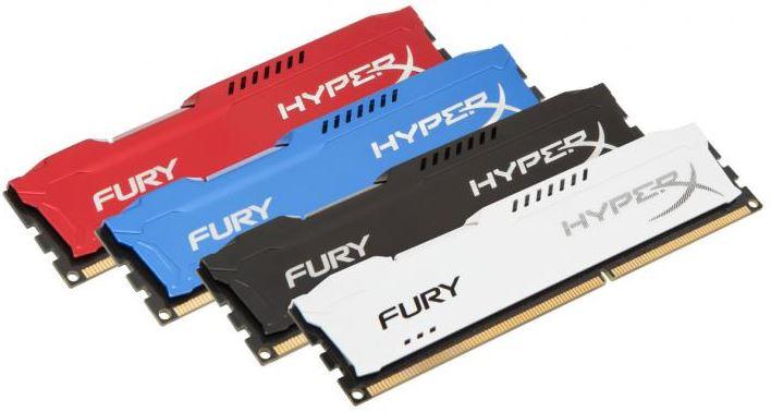 HyperX представили память FURY