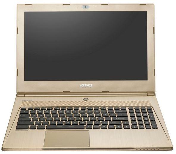 Золотистые ноутбуки от компании MSI