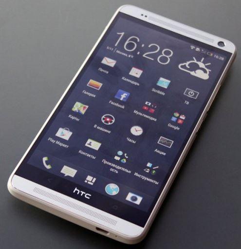 Блиц-обзор HTC One Max: крупный и металлический