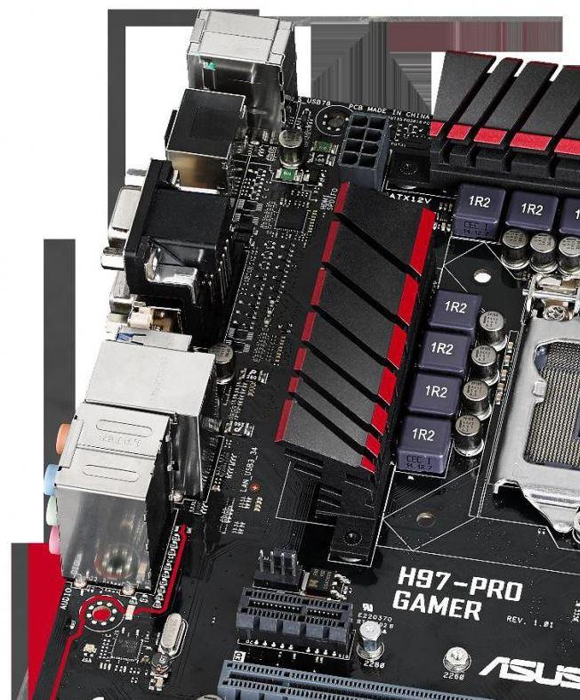 Asus выпустили на рынок материнскую плату H97-Pro Gamer