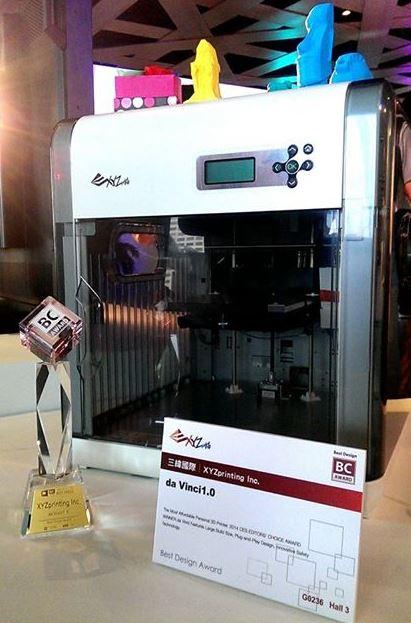 На Computex 2014 продемонстрировали парочку интересных 3D принтеров