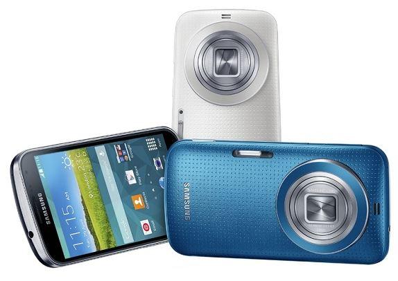 В отечественную розницу пришел камерофон Galaxy K Zoom от Самсунг