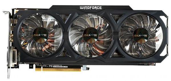 Представлен мощный видеоадаптер Radeon R9 280 WindForce OC от компании Gigabyte