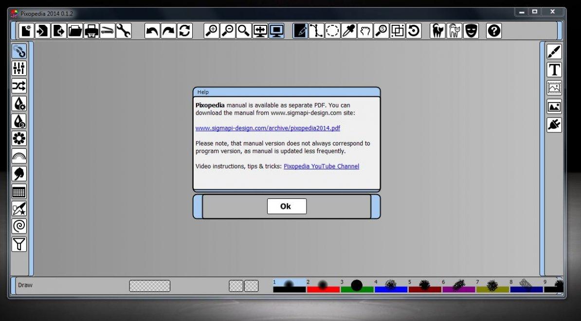 Новый инструмент для рисования под названием Pixopedia