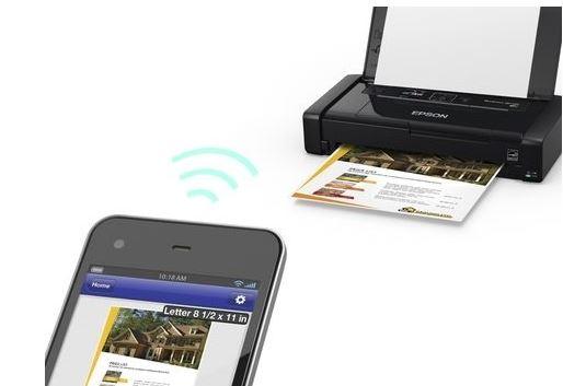 Мобильный принтер WorkForce WF-100 от компании Epson