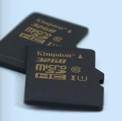 Kingston Digital увеличили объем карт памяти microSD UHS-I и SDXC