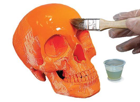 Разработано новое покрытие для гладкой поверхности изделий 3D-печати