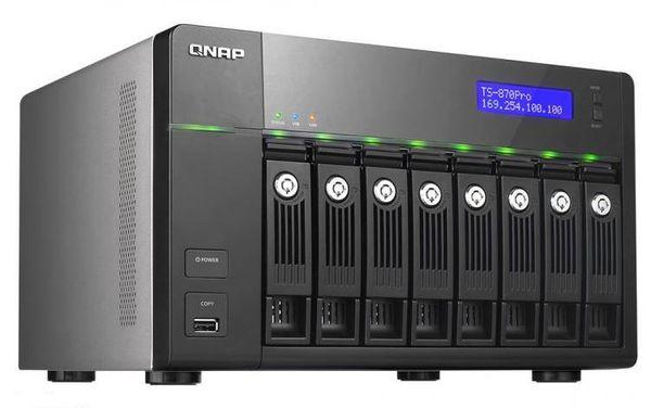 QNAP представили версию NAS TS-x70 Pro на 16 гигабайт