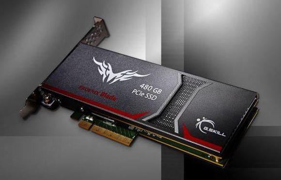 G.SKILL выпустили твердотельный диск из серии Phoenix Blade емкостью 480 Гбайт
