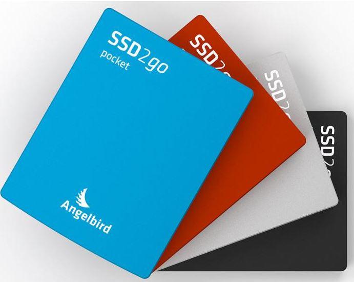 Карманный накопитель Angelbird SSD2go