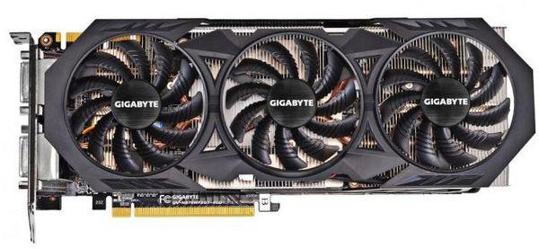 Гигабайт выпустили видеокарту GeForce GTX 970 WindForce OC