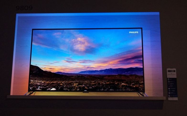 Philips выпустили на российский рынок флагманский ТВ UHD