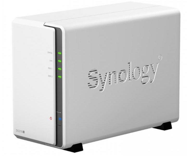 Synology выпустили DiskStations DS215j и DS115