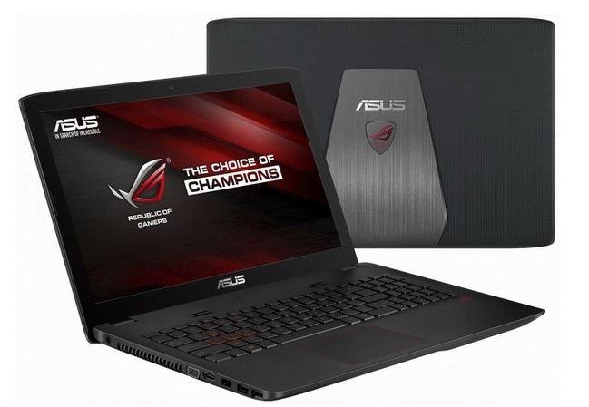 Представлен новый ноутбук Asus GL552 на базе Core i7 4-ой генерации