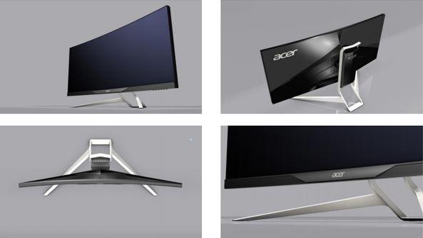 Acer готовят к выходу мониторы XR341CK и XR341CKA
