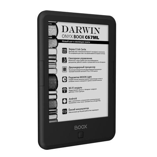 Новый букридер ONYX BOOX C67ML Darwin с дисплеем E Ink Carta