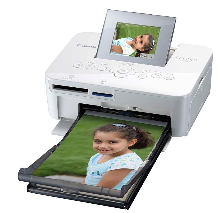 На рынке появился компактный фотопринтер Selphy CP1000 от компании Canon