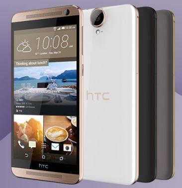 HTC представляют смартфон One E9+ с диагональю 5,5 дюйма
