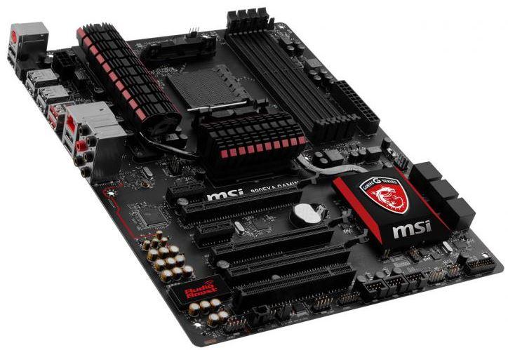 MSI выпустили материнскую плату 990FXA GAMING с интерфейсом USB 3.1