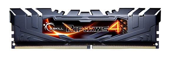 Комплект памяти DDR4 G.SKILL Ripjaws 4 работает на частоте 3666 МГц