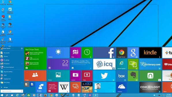 Майкрософт представили различные редакции Windows 10