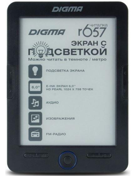 Новинки в мире электронных книг: Digma R657 и E627, а также teXet TB-156