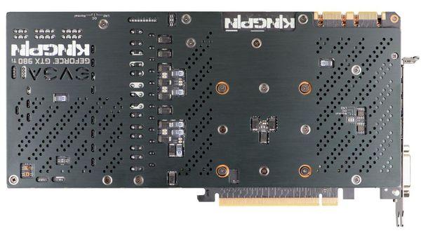 EVGA представили видеокарту GeForce GTX 980 Ti Kingpin Edition