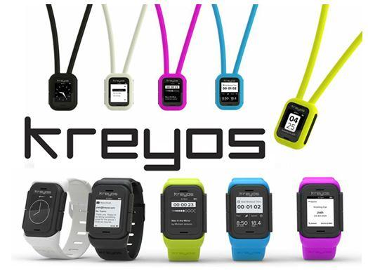 Высокотехнологичные часы Kreyos Meteor
