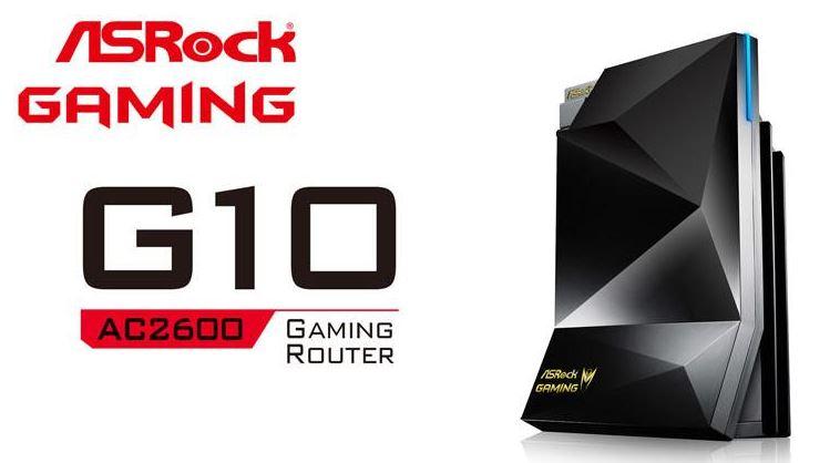 Компания ASRock представили игровой роутер G10