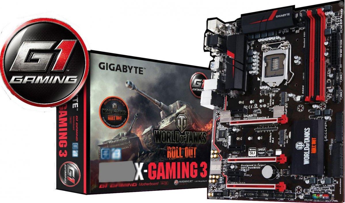 Изображение будущей материнской платы Gigabyte Gaming 3