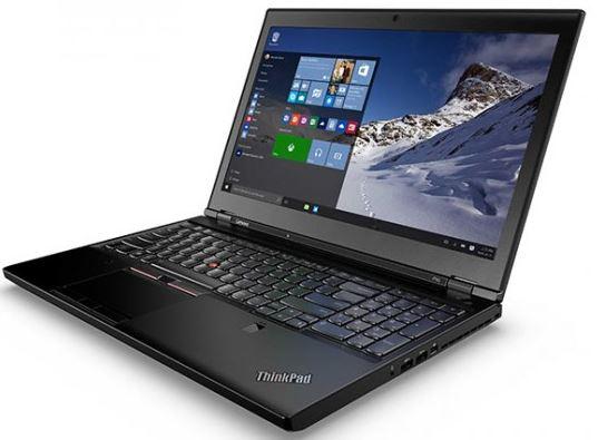Компания Lenovo представили новые модели Thinkpad P50 и P70