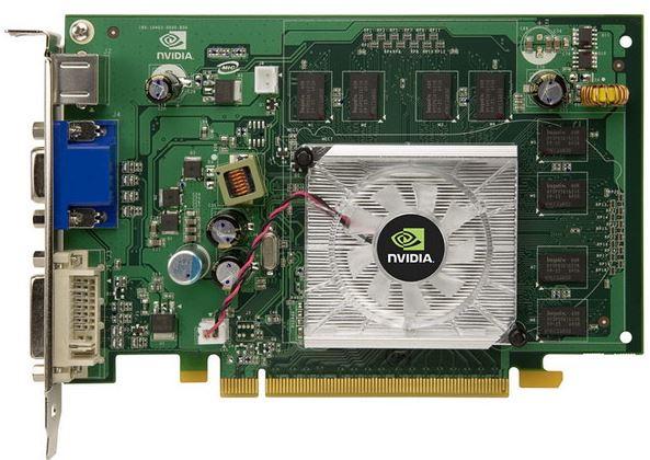 Характеристики, обзор и цена NVIDIA GeForse 8500 GT