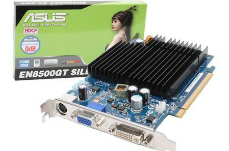 Видеокарта Asus EN8500GT Silent