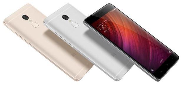 Компания Xiaomi представили недорогой смартфон Redmi Note 4