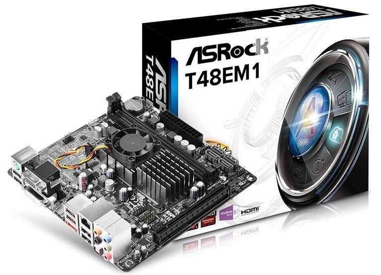 Плата ASRock T48EM1