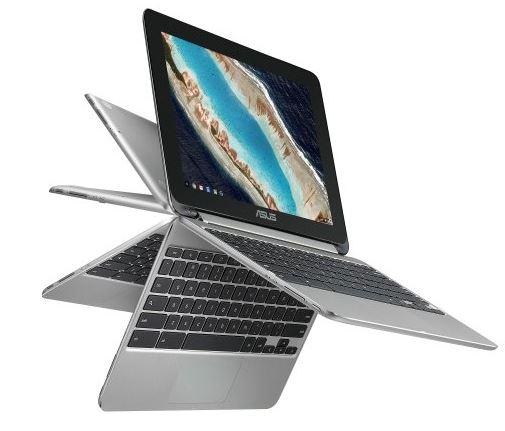 Вышел «перевертыш» Asus Chromebook Flip C101