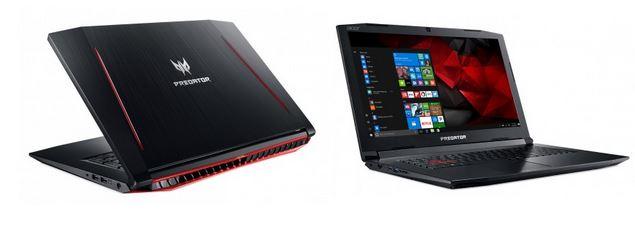 Acer запустили продажи игровых ноутбуков Predator Helios 300 на российском рынке