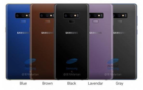 Стала известна цена Samsung Galaxy Note 9