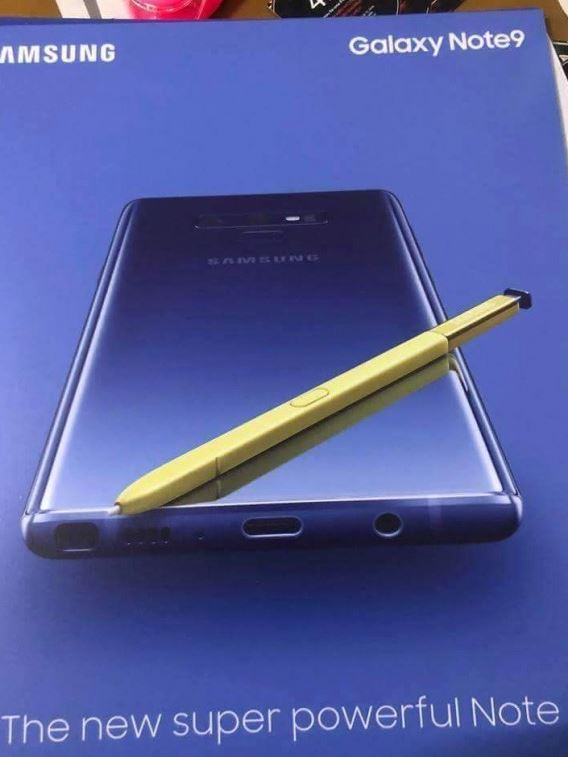 Новая информация о Samsung Galaxy Note 9