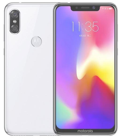Смартфон Motorola P30 получил вырез в дисплее