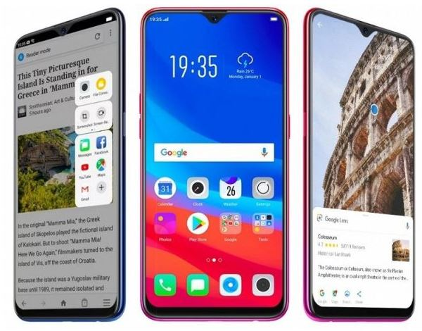 До анонса стали известны подробности о смартфоне Oppo F9