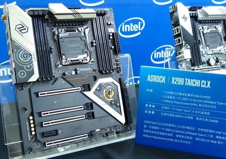 Новые материнские платы Intel Cascade Lake-X появятся в арсенале ASRock