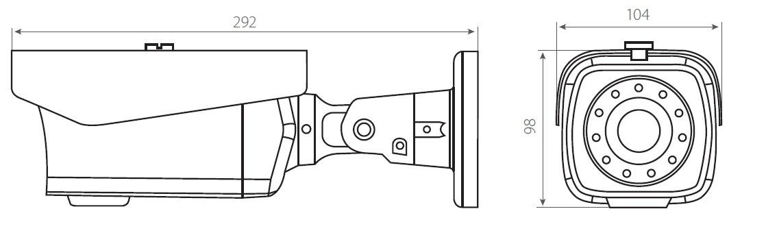 Камера STC-IPM12650А