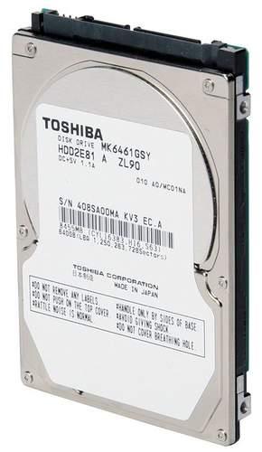 Новые винчестеры 2.5' от Toshiba