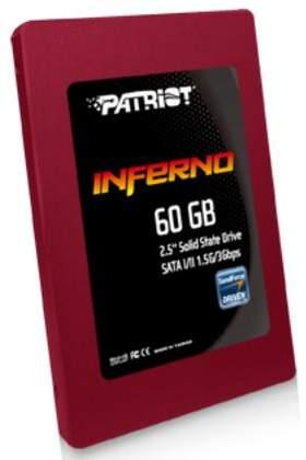 Новые модели SSD винчестеров в серии Inferno от Patriot