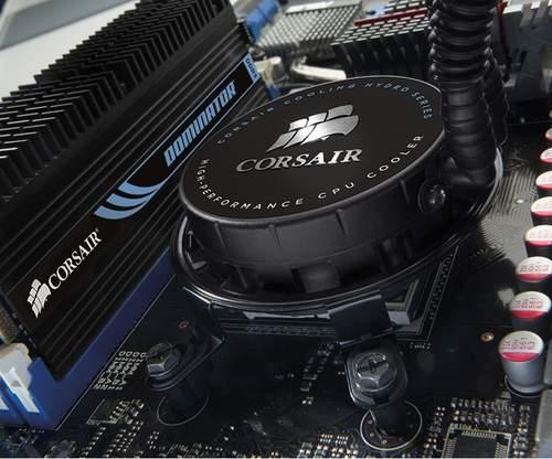 Установленный в системе Hydro H70 от Corsair